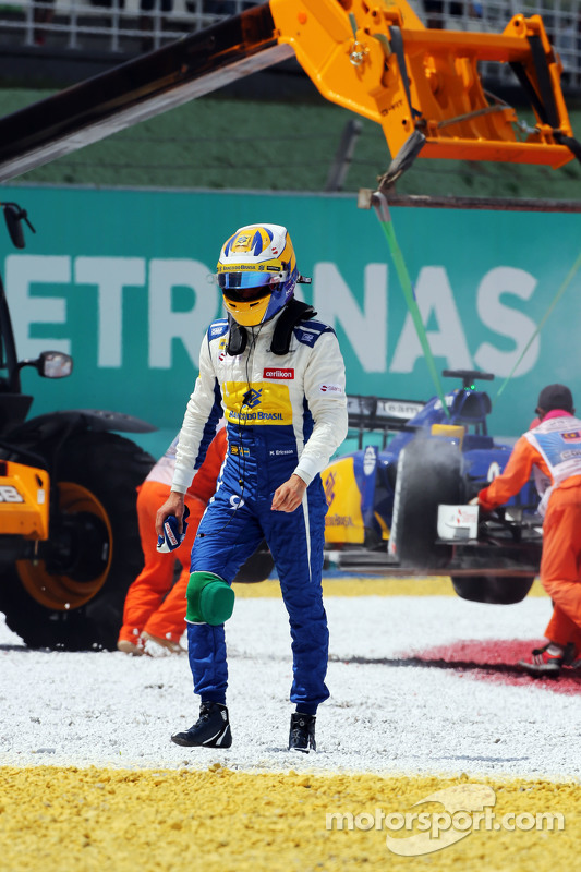 Marcus Ericsson, Sauber F1 Team retired from the race
