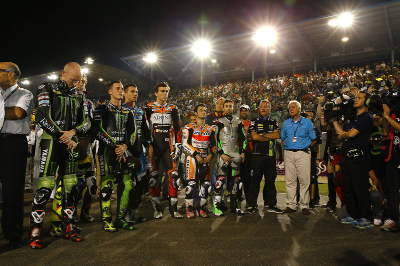 Bradley Smith, Pol Espargaro, Loris Baz, Dani Pedrosa y Eugene Laverty