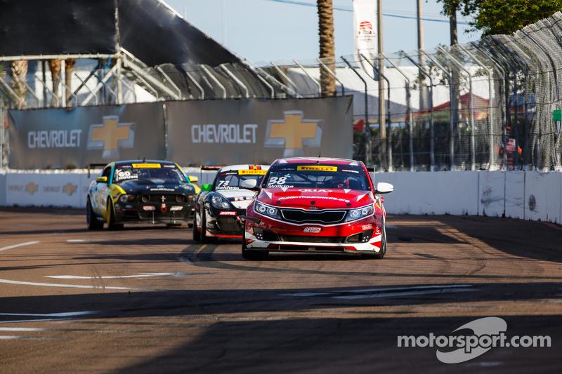 #38 Kinetic Motorsports/Kia Racing Kia Optima: Mark Wilkins