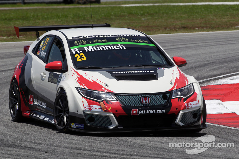 René Münnich, Honda Civic TCR, West Coast Racing