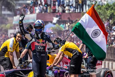 Red Bull Showrun, Hyderabad, India