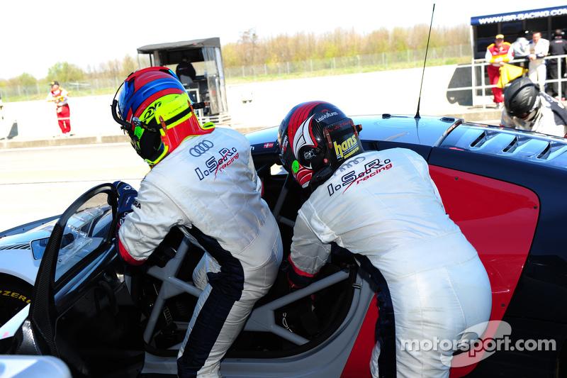 #74 ISR 奥迪R8 LMS Ultra: Anders Fjordbach, Thomas Fjordbach