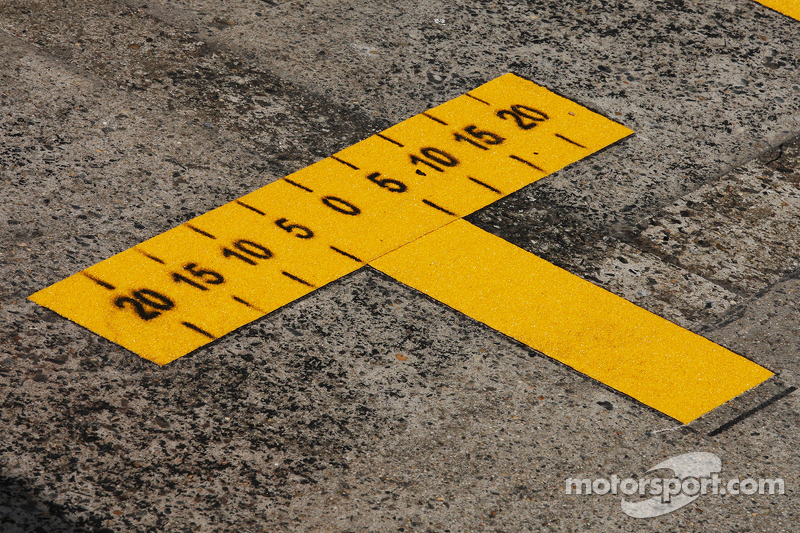 Pit markings