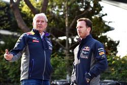 Д-р Хелмут Марко, Red Bull Motorsport Consultant з Крістіан Хорнер, Red Bull Racing Керівник команди