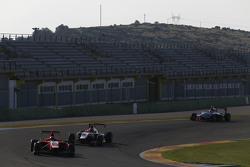 Aleksander Bosak, Arden International and Esteban Ocon, ART Grand Prix y Matthew Parry, Koiranen GP