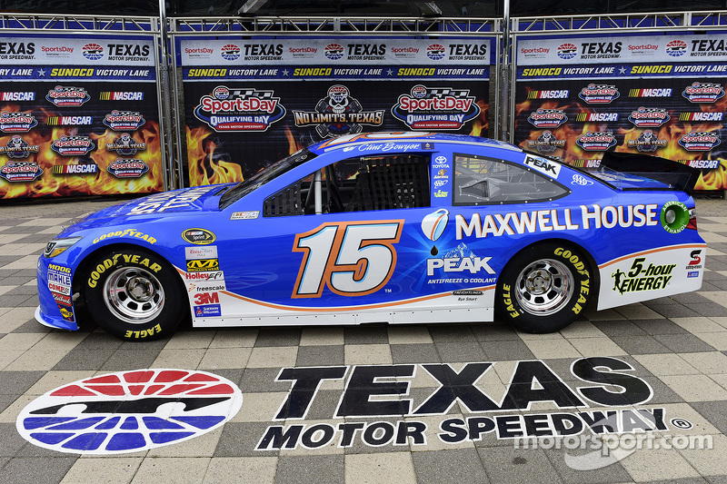 Clint Bowyer, Michael Waltrip Racing, Toyota, mit neuem Sponsorendesign von Maxwell House
