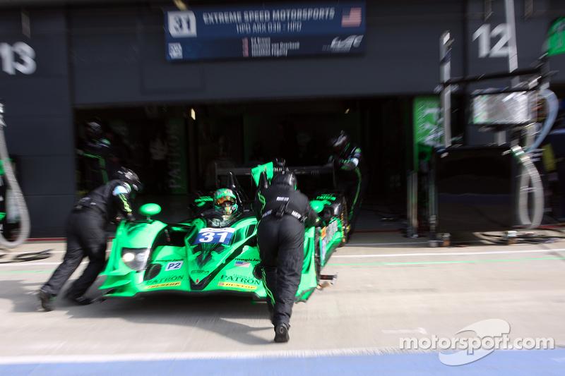 #31 Extreme Speed Motorsports, HPD ARX 03B - HPD: Ed Brown, Johannes van Overbeek, Jon Fogarty