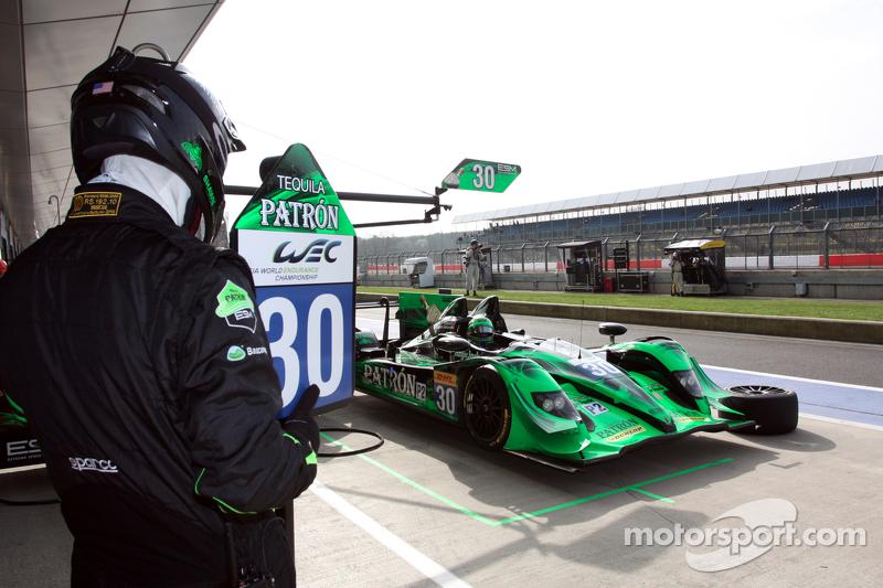 #30 Extreme Speed Motorsports, HPD ARX 03B - HPD: Scott Sharp, Ryan Dalziel, David Heinemeier Hansson