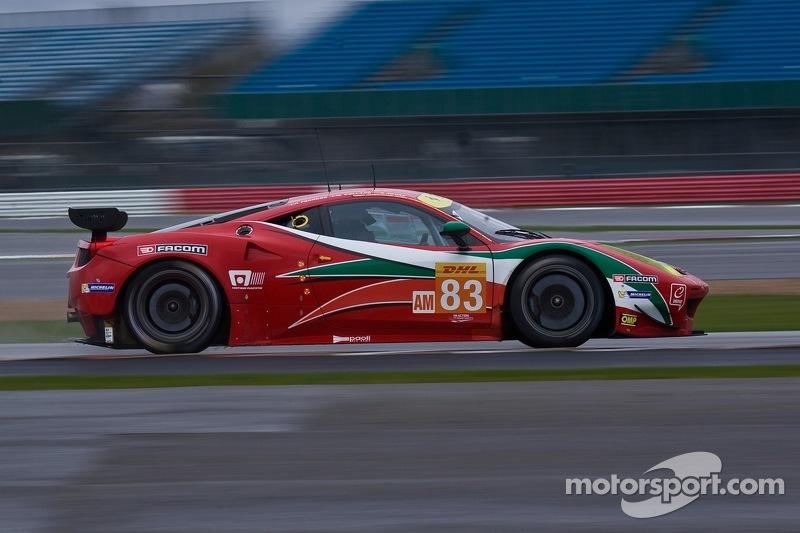 #83 AF Corse Ferrari 458 Italia: Francois Perrodo, Еммануель Коллар, Руї Агуас
