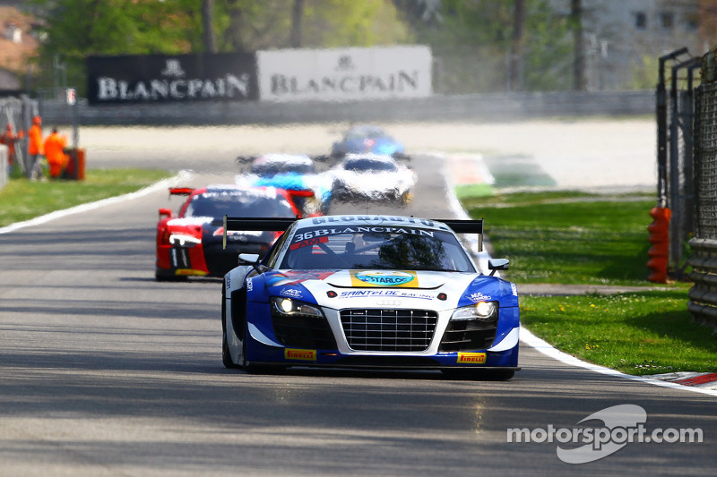 #36 Sainteloc Audi R8 LMS ultra: Jean-Paul Buffin, Georges Cabannes, Marc Sourd