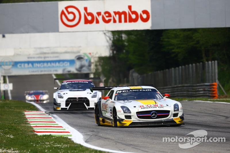 #99 ROWE Racing, Mercedes SLS AMG GT3: Nico Bastian, Klaus Graf, Stef Dusseldorp