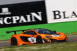 #58 Von Ryan Racing,迈凯伦650 S GT3: Shane Van Gisbergen, Robert Bell, Kevin Estre