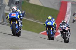 Maverick Viñales und Aleix Espargaro, Team Suzuki MotoGP