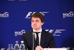 Сергей Воробьев, промоутер Гран При России