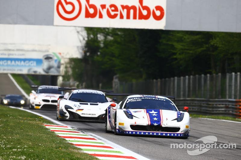 #100 DragonSpeed, Ferrari 458 Italia: Henrik Hedman, Elton Julian, Thomas Kemenater