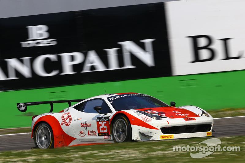 #25 Glorax Racing, Ferrari 458 Italia: Fabio Mancini, Andrey Birzhin, Rino Mastronardi