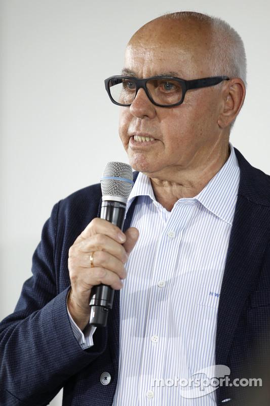 Hans Werner Aufrecht, Teamchef HWA, ITR-Chef
