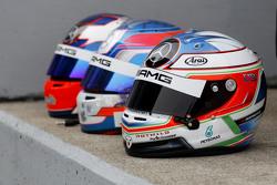 Helm Paul di Resta, HWA AG Mercedes-AMG C63 DTM