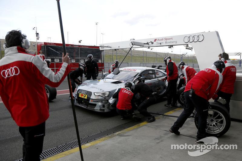 Pitstop Nico Müller, Audi Sport Team Rosberg Audi RS 5 DTM