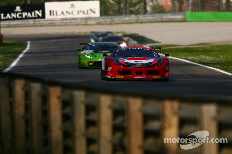 #10 Akka ASP, Ferrari 458 Italia: Gabriel Balthazard, Maurice Ricci, Tristan Vautier