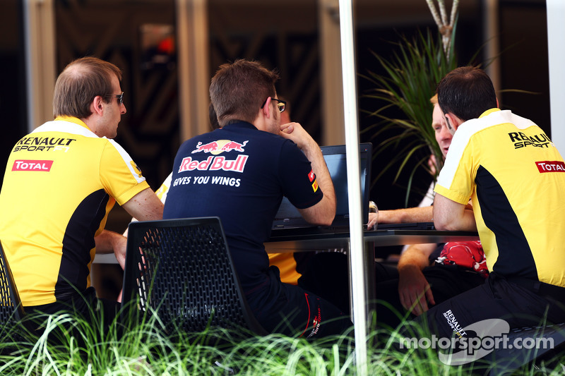 Red Bull Racing and Renault Sport F1 meeting