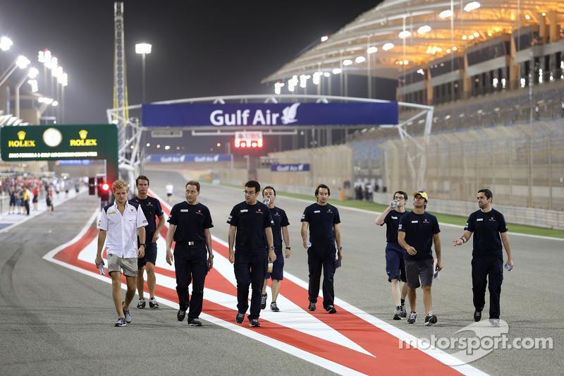 Marcus Ericsson, Sauber F1 Team, dan Felipe Nasr, Sauber F1 Team