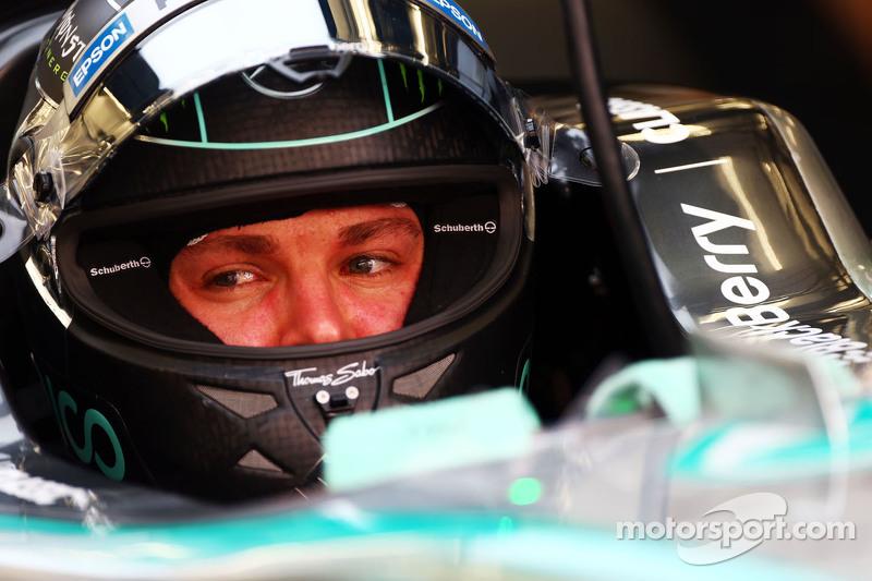 尼克·罗斯伯格 梅赛德斯AMG车队 F1 W06赛车.