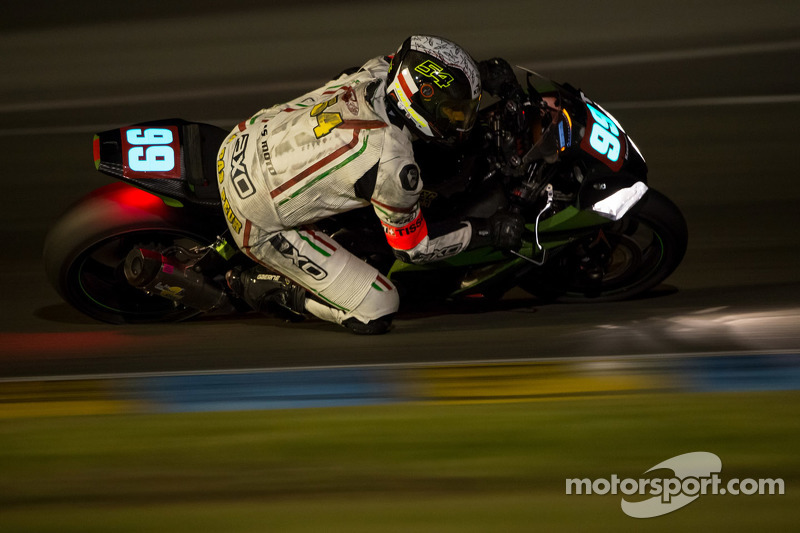 #99 Kawasaki: Lionel Bergeron, Jonathan Hugot, Cedric Meslet, Julien Ferre