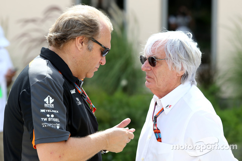 Robert Fernley, Sahara Force India F1 Team Deputy Team Principal dan Bernie Ecclestone
