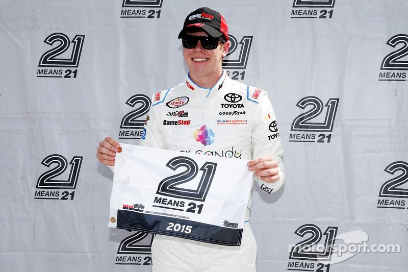 Pole-Sitter: Erik Jones, Joe Gibbs Racing, Toyota