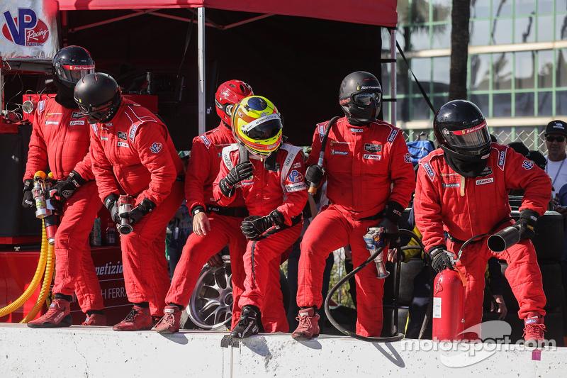 #62 Risi Competizione 法拉利F458: Pierre Kaffer, 吉安卡罗·费斯切拉, Olivier Beretta