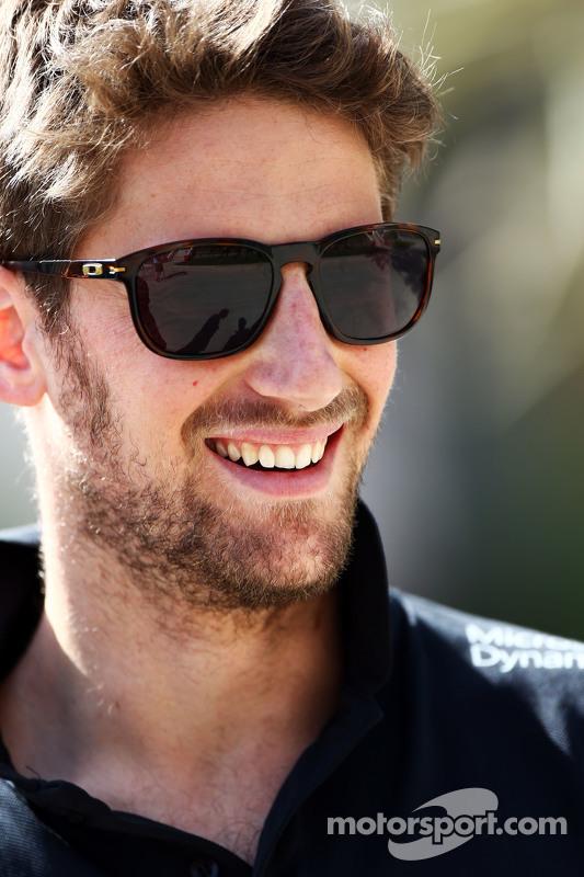 رومان غروجان، فريق لوتس للفورمولا واحد