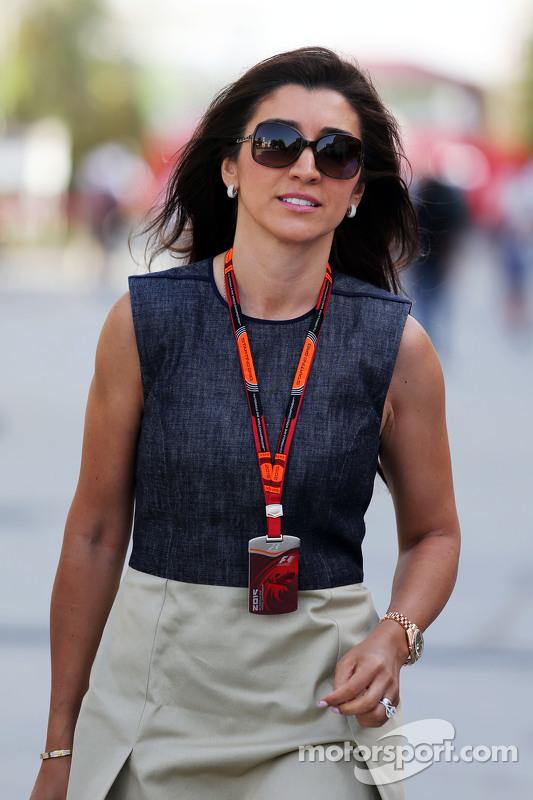 Fabiana Flosi, Frau von Bernie Ecclestone