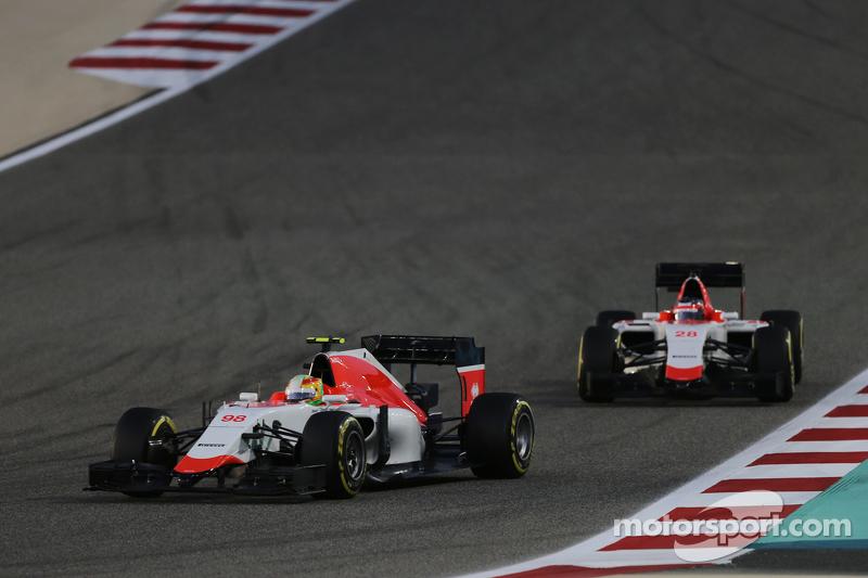 Roberto Merhi, Manor F1 Team, vor Will Stevens, Manor F1 Team