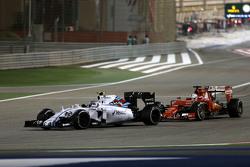 Валттері Боттас, Williams F1 Team та Себастьян Феттель, Scuderia Ferrari