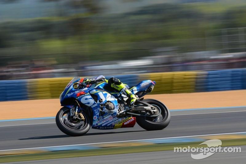 #72 Suzuki: Baptiste Guittet, Gregg Black, Romain Maitre, Dylan Buisson