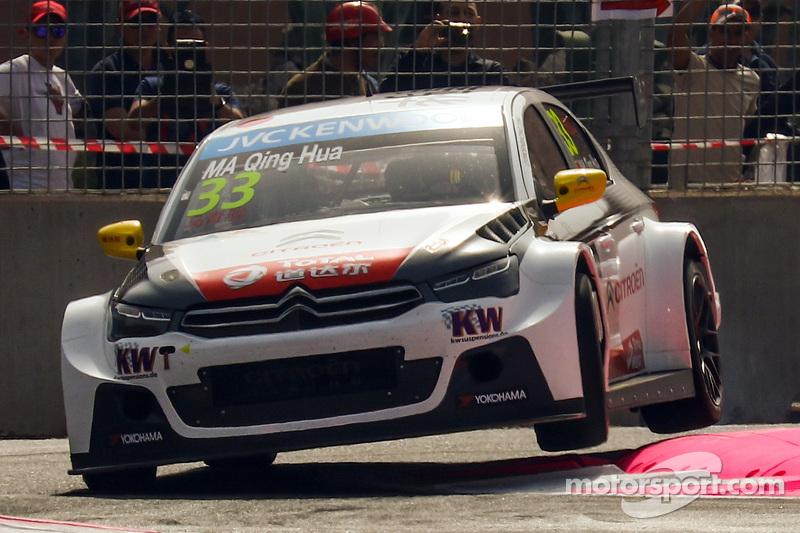 Qing-Hua Ma, Citroën C-Elysée WTCC, Citroën World Touring Car Team
