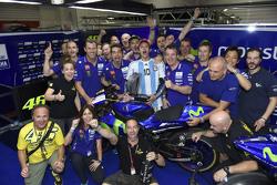 Le vainqueur : Valentino Rossi, Yamaha Factory Racing