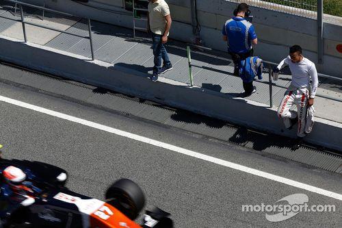 Testfahrten in Barcelona