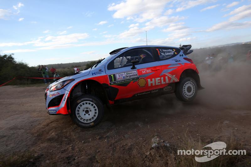 Thierry Neuvilleand Nicolas Gilsoul, Hyundai I20Wrc, Hyundai Motorsport