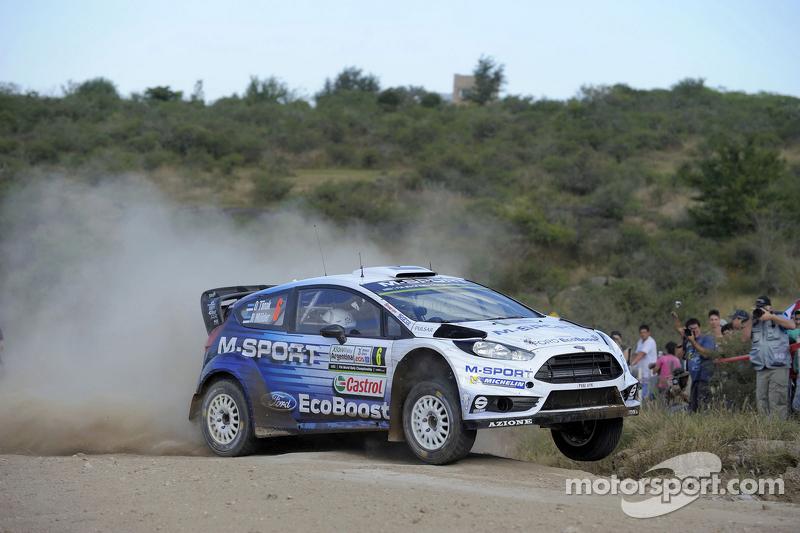 Отт Танак та Raigo Molder, Ford Fiesta Rs Wrc, M-Sport World Rally Team