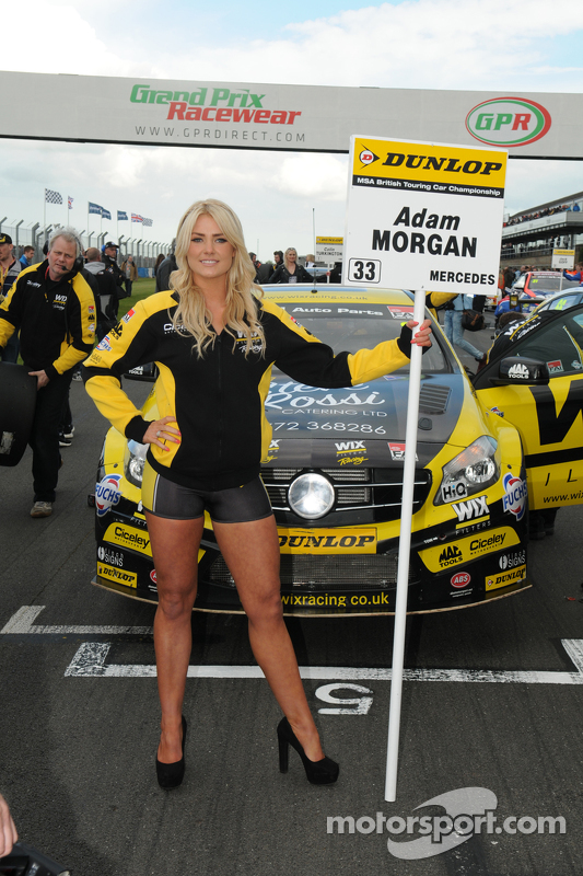 Grid girl Wix Racing
