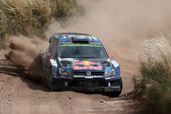 Jari-Matti Latvala und Miikka Anttila, Volkswagen Polo R WRC, Volkswagen Motorsport