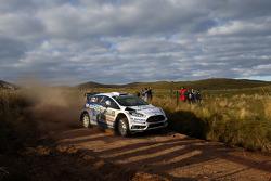 Ott Tänak und Raigo Molder, Ford Fiesta Rs Wrc, M-Sport World Rally Team