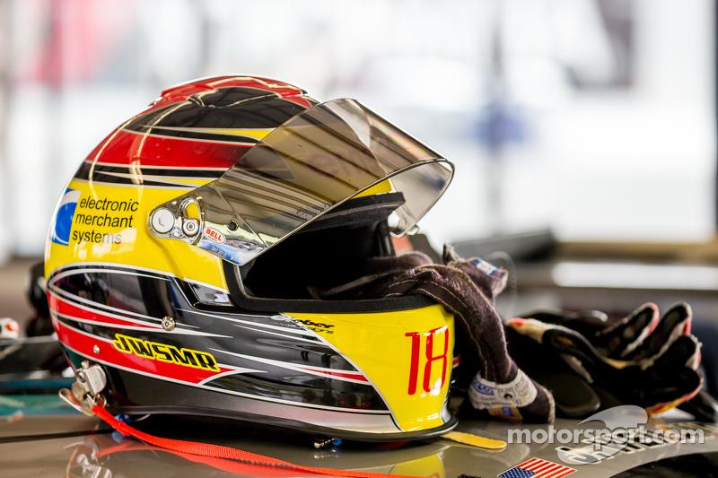 James Weiland's helmet