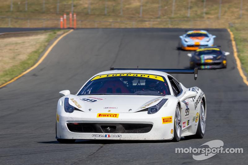 #99 Ferrari of Vancouver, Ferrari 458: Wei Lu