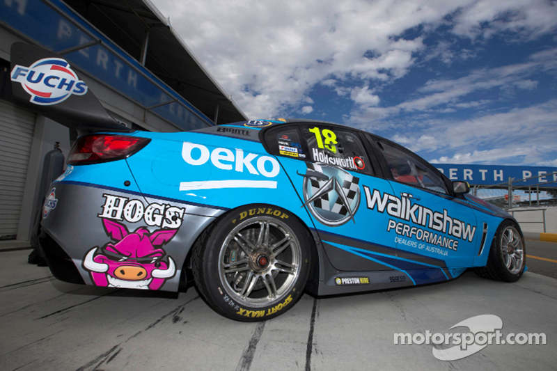 Lee Holdsworth, Walkinshaw Racing