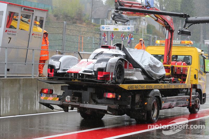 #8 奥迪运动车队,奥迪 R18 e-tron quattro Hybrid: Lucas di Grassi, Loic Duval, Oliver Jarvis