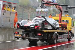 #8 Audi Sport Team Joest, Audi R18 e-tron quattro Hybrid: Lucas di Grassi, Loic Duval, Oliver Jarvis