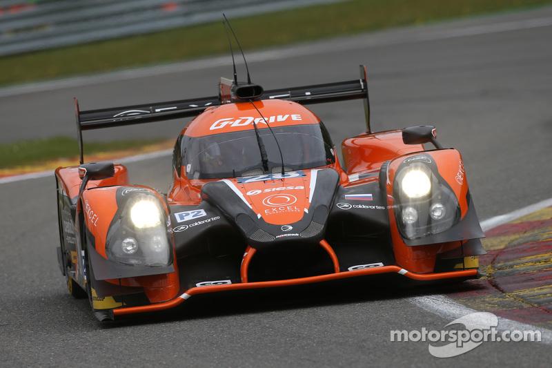 #28 G-Drive Racing, Ligier JS P2 Nissan: Gustavo Yacaman, Luis Felipe Derani, Ricardo Gonzalez